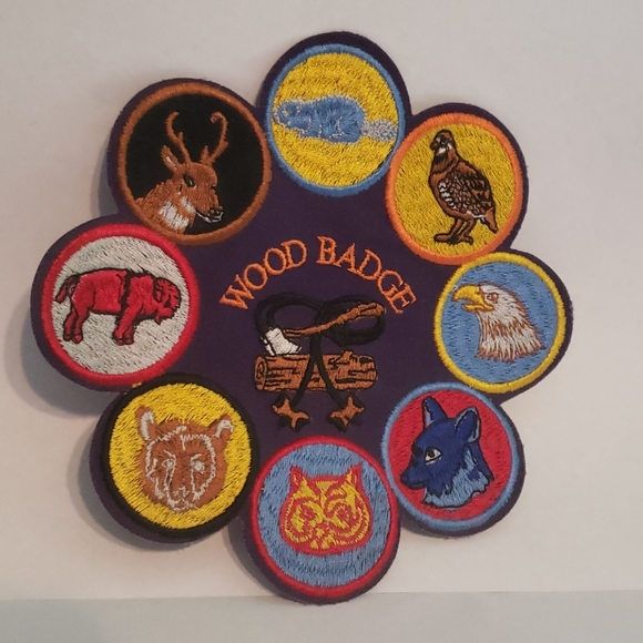 Boy Scout Wood Badge Patch